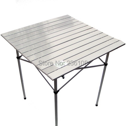 Aluminum outdoor table aluminium alloy folding camping foldable metal grill camp picnic - Lightweight camping tables ...