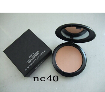 Brand mc makeup powder plus foundation studio fix +powder puffs 15g / 11 different color makeup powder foundation mc powder(China (Mainland))