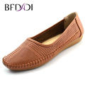 BADADI New Arrival 2016 Fashion Brand Women Flats Comfortable Breathable PU Non slip Women Shoes For