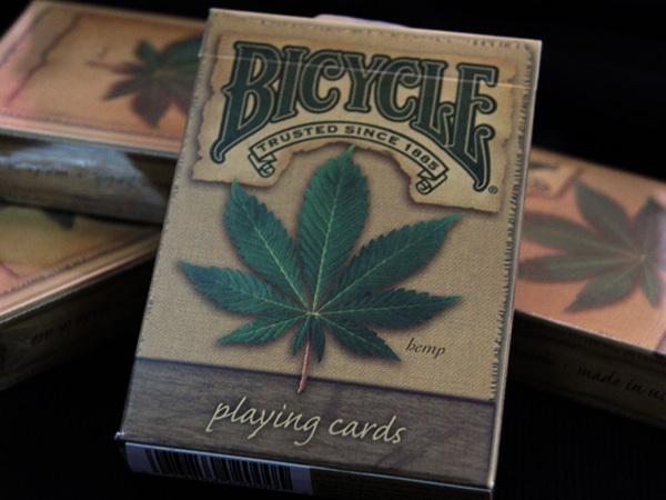 100% ORIGINAL Bicycle Hemp Deck Playing Cards Best Poker New Bicycle Playing Card Magic Card(China (Mainland))