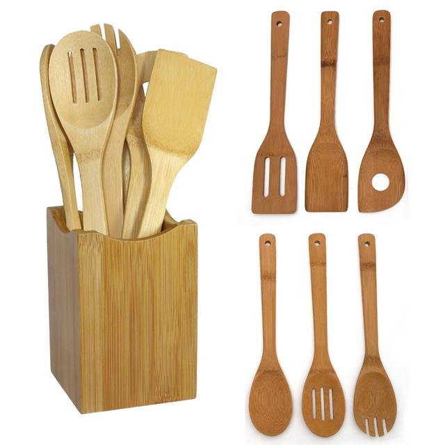 Przybory kuchenne drewniane