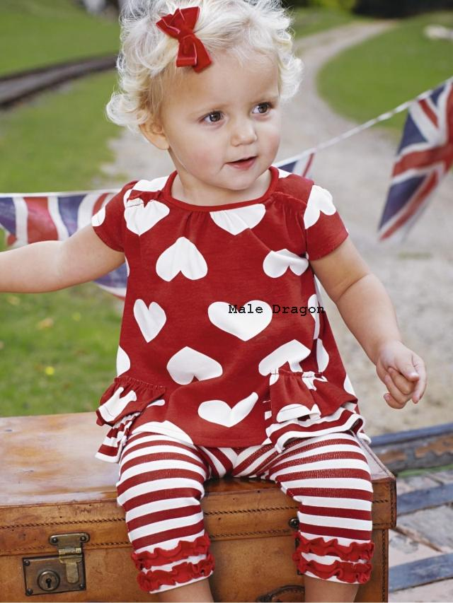 baby cloth Male dragon heart childrens clothing twinset t-shirt shorts<br><br>Aliexpress