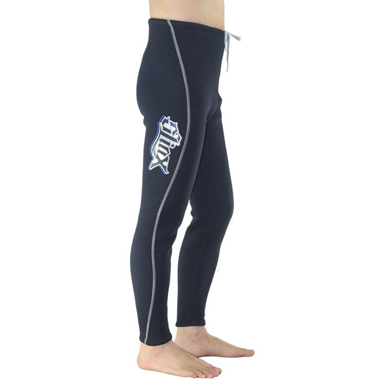 Slinx Diving Warm Trousers 3mm Super Elastic Wear-resisting Lining Silk Warm Towel Cloth Diving Equipment Neoprene Wetsuit Pants(China (Mainland))