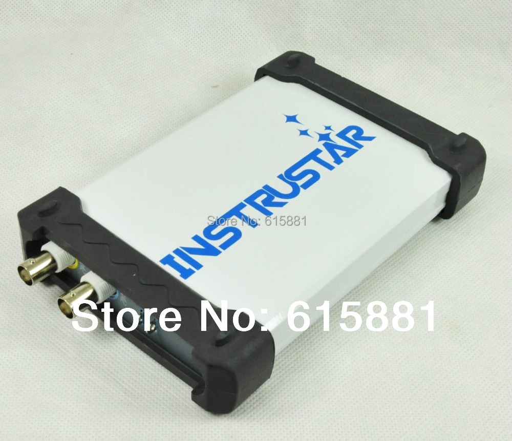 ISDS205A PC Based USB Oscilloscope 2CH 20MHz 48MSa/s FFT Analyzer Data Logger(China (Mainland))