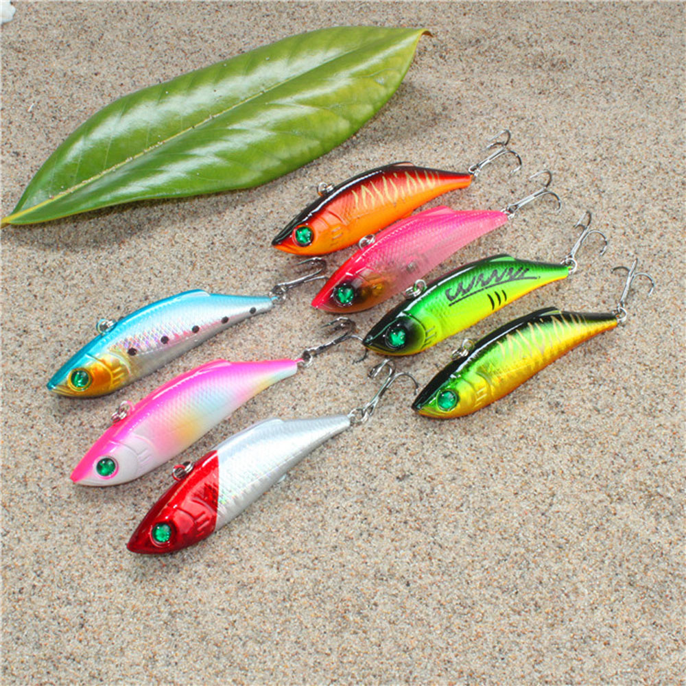 Hot sale promotion fishing tackle vib hard bait salt for Fishing tackle for sale