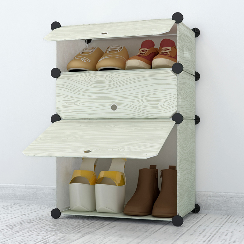 Simple dust shoe rack multilayer living room combination dormitory housing assembly simple plastic<br><br>Aliexpress