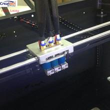 Upgrade Triple Extruder for CreatBot DE DE PLUS DG 3d printer head Nozzle heater DIY 3D