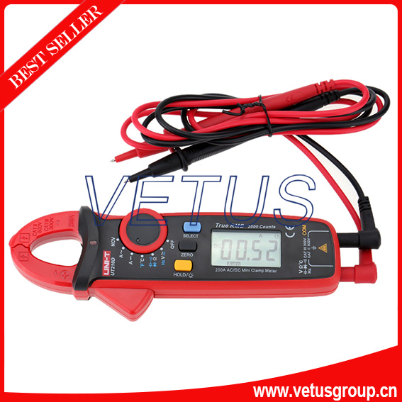 UT210D Digital AC/DC Current Voltage Resistance Capacitance Clamp Meter <br><br>Aliexpress