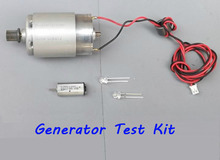 Dynamo Generator / Generator Test suite wind driven generator 445 dc motors with dynamo and 2pcs light emitting diode(China (Mainland))