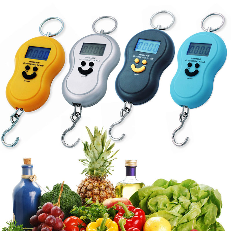1Pcs New 4 Units 40kg LCD Digital Scale Market Kitchen Electronic Weight Tool Best Price(China (Mainland))