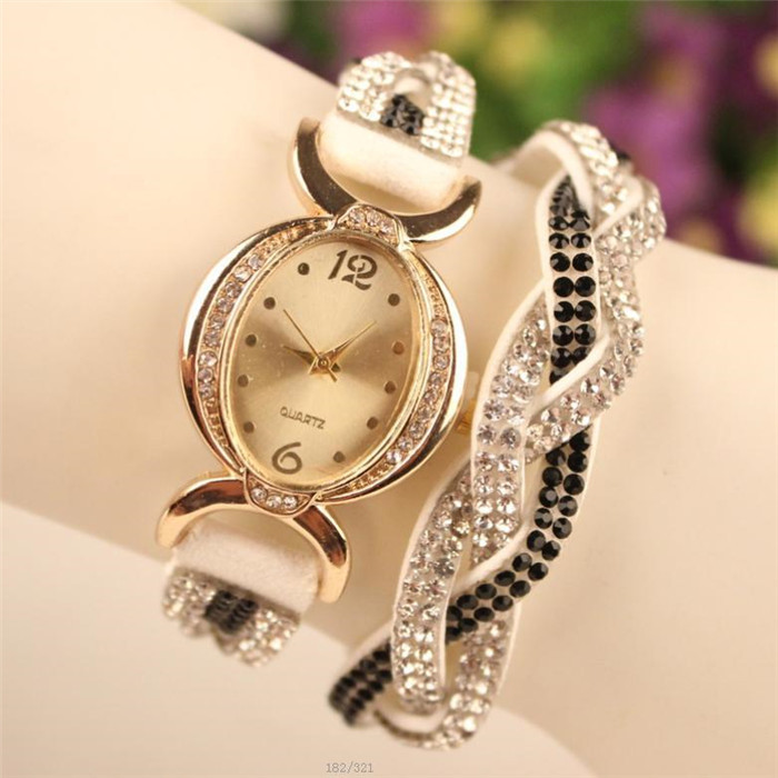 9 colors Original fashion High quality quartz wristwatches gold digital dial women casual watches relogio feminino pulseira gift(China (Mainland))
