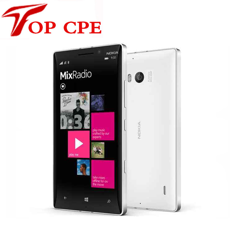 "Original Nokia Lumia 930 Unlocked 32GB Quad Core 2.2GHz 2G RAM 5.0"" 20.0MP WIFI GPS Microsoft Windows Refurbished mobile phone(China (Mainland))"