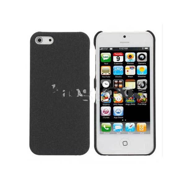Dingdang Slim Sand Shell Quicksand Plastic Case For iPhone 5(China (Mainland))