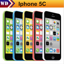 "iPhone 5c A1532 A1507 Unlocked Original Apple iphone 5C Cell Phone 4"" Retina 1GB RAM 16GB ROM 8MP Camera 1080P WCDMA(China (Mainland))"