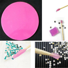 DIY Sticker Rhinestone Dotting Tools Nail Art Tools Rhinestone Diamond Point Pen Drilling Mud(China (Mainland))
