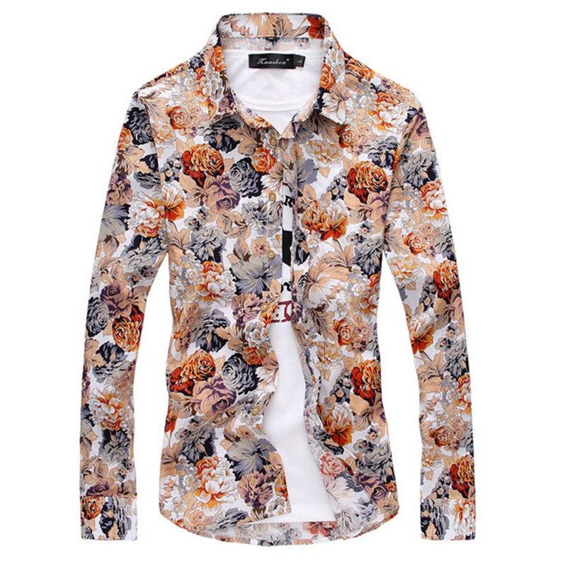 Compare Prices on Mens Patterned Shirts Casual- Online Shopping ...