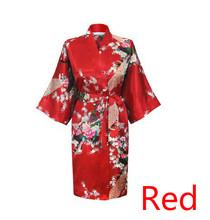 Satin Robe Sleepwear Silk Pajama Casual Bathrobe Animal Rayon Long Sexy Nightgown Women Kimono Sexy Lingerie Plus Size S-XXXXL(China (Mainland))
