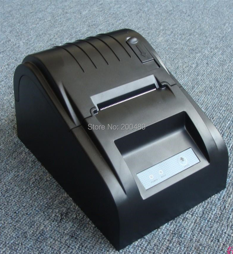 Serial port interface High speed 58mm thermal Receipt POS printer mini thermal printer optional USB Parallel(China (Mainland))