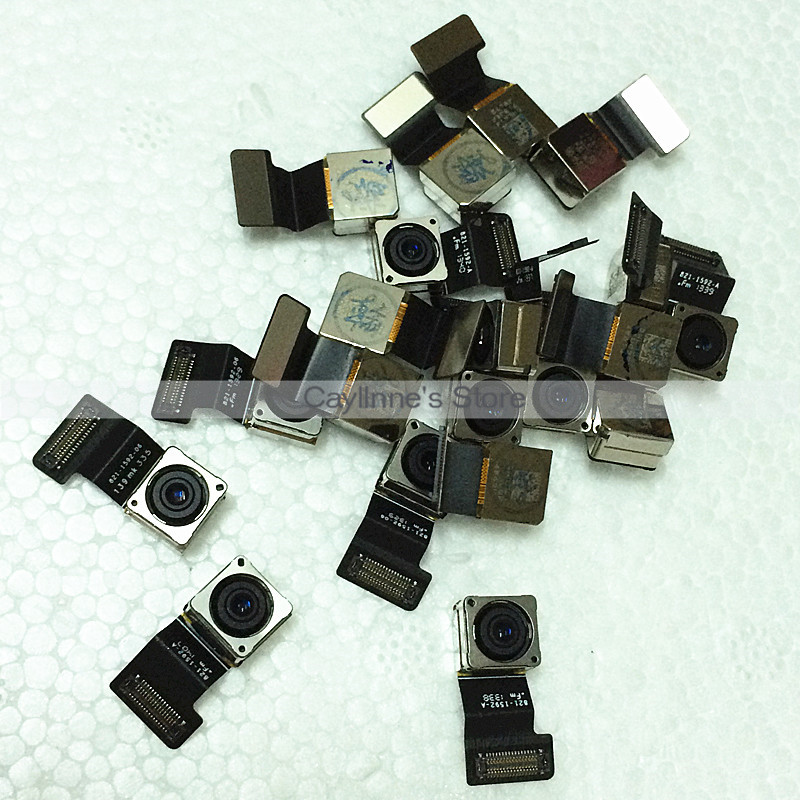 100pcs/lot New Original Rear Back Camera With Flex Cable Ribbon For iPhone 5S Free DHL