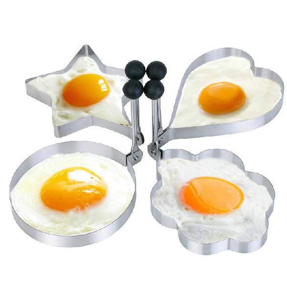 BS#S 1 PC Kitchen Tool Stainless Steel Pancake Mold Ring Cooking Fried Egg Shaper(China (Mainland))
