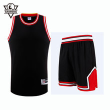 2016 S-4XL Brand SANHENG Mens Throwback Basketball Jersey Set 309AB