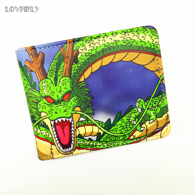 Dragon Ball Z Wallet Young Men and Women Students Anime Fashion Short Wallets Japanese Cartoon Comics Purse Dollar Price(China (Mainland))