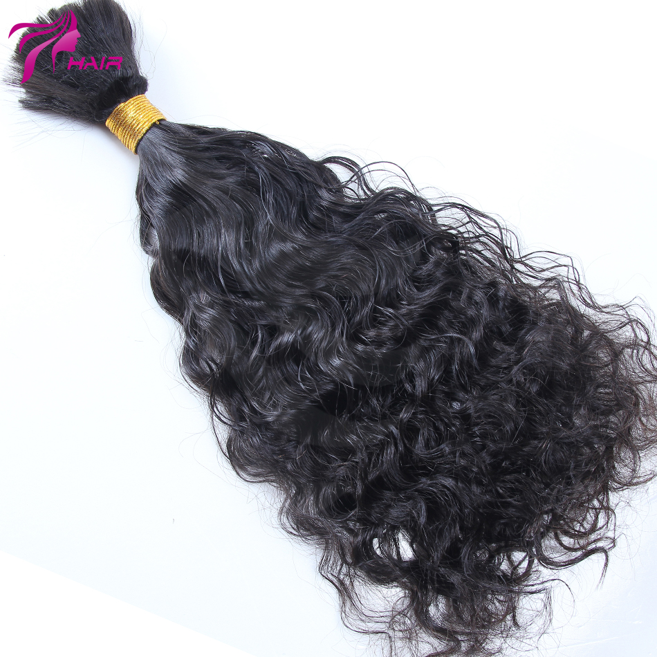 Unprocessed Human Hair Bulk Virgin Malaysian Bulk Braiding Hair Extensions Loose Wave Hair Style Instock Fast Shipping