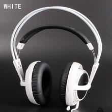 White Color Headset Steelseries Siberia V2 Brand Noise Isolating Game Headphones For Headphone Gamer Fast Shipping