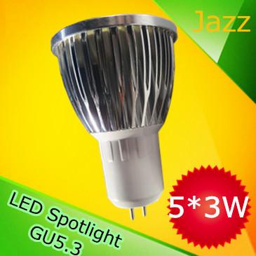 Гаджет   Super Quality 9W 12W 15W 110V 220V GU5.3 Dimmable LED Spotlight Lamp MR16 LED Light Bulb Free Shipping None Свет и освещение