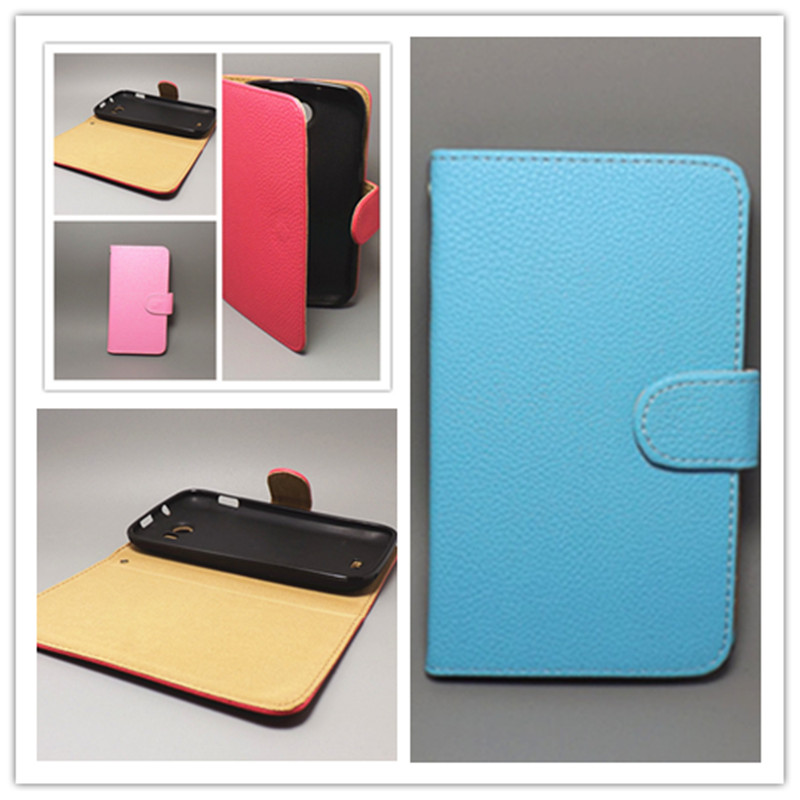 7 colors Huawei Ascend Y530 Lichi Texture Leather Case Pouch Flip case - store wang