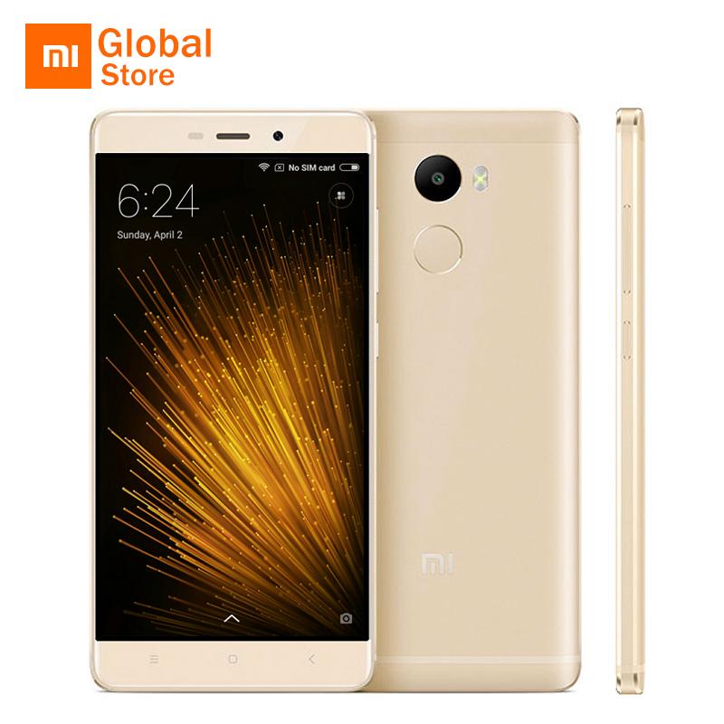 "Xiaomi Redmi 4 2GB 16GB Mobile Phone Snapdragon 430 Octa Core CPU 5.0"" 4100mAh Battery Fingerprient ID 13.0MP Camera(China (Mainland))"