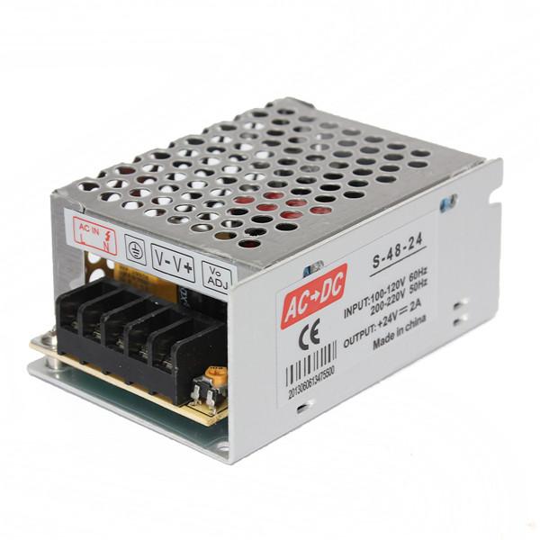 Импульсный блок питания AC 100v/240v DC 24V 2A 48W ac contactor lc1d40 lc1 d40 lc1d40fe7 lc1 d40fe7 115v lc1d40g7 lc1 d40g7 120v lc1d40k7 lc1 d40k7 100v lc1d40l7 lc1 d40l7 200v