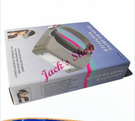 Бесплатная доставка OptiVisor профессиональный лупа лупа громкой повязка на голову для ювелиров и часовщиков ( выбрать размер )