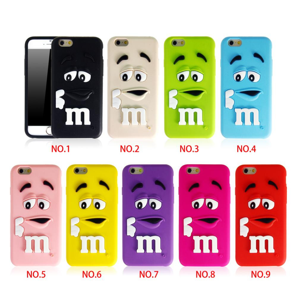 Rubber Silicone Soft Colorful Case Cover For Apple iPhone ...