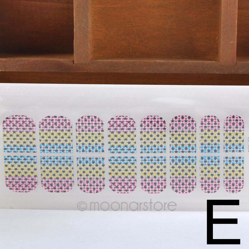 16pcs/Sheet Fashion Korean 3D DIY Crystal Nail Stickers Decals Manicure Nail Art Nail Tools Nails Beauty Accessories HJ0092(China (Mainland))