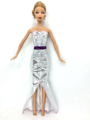 NK One Set  Style Unique Doll Purple Skirt  Stunning Handmade Occasion Outfit  Handmade Costume For Barbie Unique Doll Costume B021