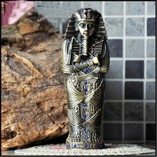 Egyptian Pharaoh Tut guardian protecting pledge ornaments pencil cases jewelry storage box gift for her