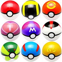 9pcs/set 7cm Pokemon Pokeball ABS Figures Japanese Hot Anime Pokemon PokeBall Toys Cosplay Collections Gifts #F(China (Mainland))