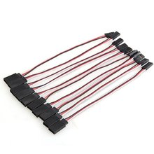 Buy 10x 150mm RC Servo Extension Cord Cable Wire RC Model Toys for $1.34 in AliExpress store