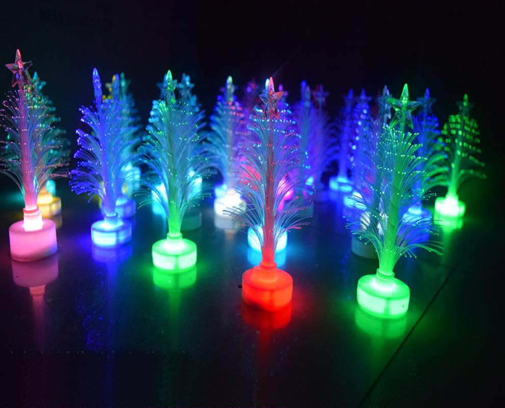 Christmas Xmas Tree Color Changing Led Light Lamp Home