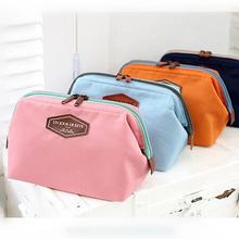 4 color cotton steel frame multifunction cosmetic organizer handbag bag in bag zipper makeup bags necessair travel toiletry bag
