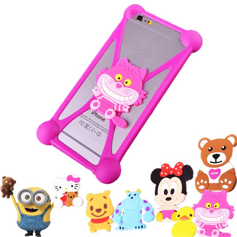 Cute Cartoon Fashion Silicon Mobile Phone Case For Samsung Galaxy Core Prime G360 G360H G3606 G3608 G3609 3D Case Silicone Cover(China (Mainland))