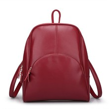 2015 New Design Women Backpack Fashion Leather Backpack Genuine Leather Bag Backpacks For Teenage Girls cowhide Mochila(China (Mainland))