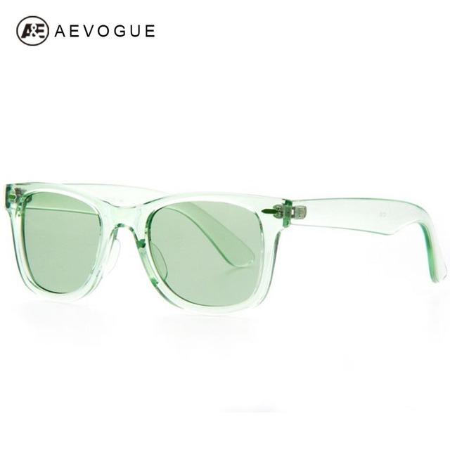 Aevouge марка солнцезащитные очки мужчины прозрачный кадров Высокое качество солнцезащитные очки UV400 AE0150