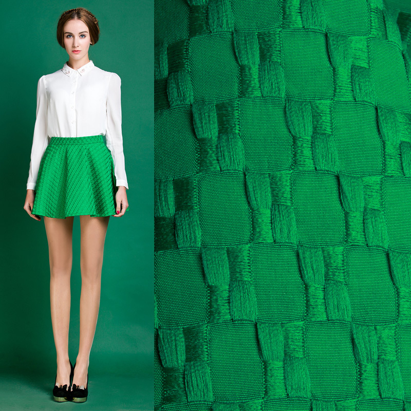 American Apparel Promotion Polyester Midi Skirt French Small Fragrant European Station 2015 New Spring Skirt A Word 11510003(China (Mainland))