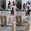 6 Types Body KUN Body Chan SHFiguarts PVC Action Figure DX SET Figma He She Solid
