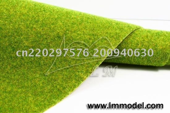 5pcs free shipping grass mat for model train layout and gauge scenery