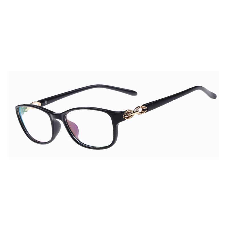 Glasses women glass brand designer vintage delicacy lock frame retro trendsetter goggles sport elegant fashion eye wear 5 colors(China (Mainland))