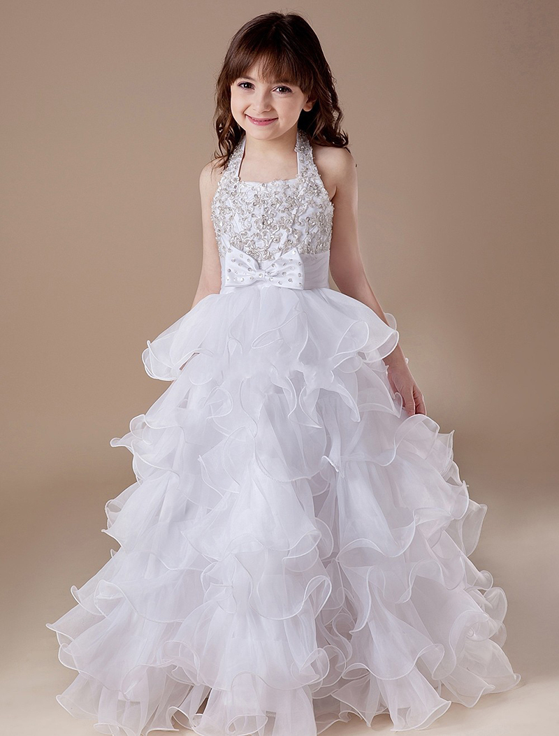 Casual Flower Girl Dress