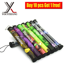 10 Pcs Disposable Cigar 500 puffs Disposable E Cigarette electronic Smoking Hookah Shisha Pen Flavor E Vapor Cigarettes NO.16